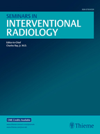 Seminars in Interventional Radiology cover